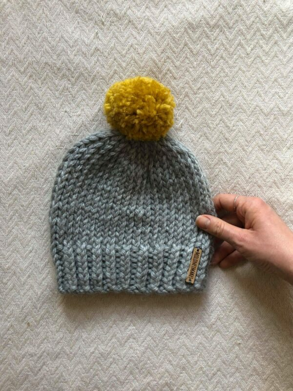 Elliott Beanie: Toddler Size by Moloneymakes