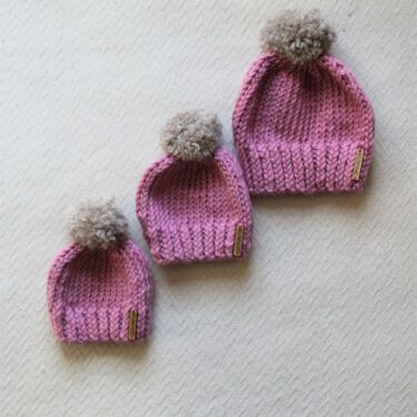 elliot beanie children's hat pattern by Moloneymakes