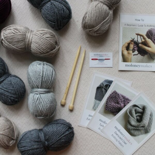 Moloneymakes Christmas Ultimate Starter Knitting Kit