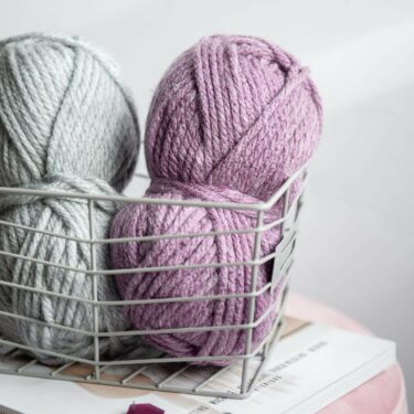 Moloneymakes Super Chunky Knitting. Vegan Yarn and Stitch Markers by Stitching Me Softly