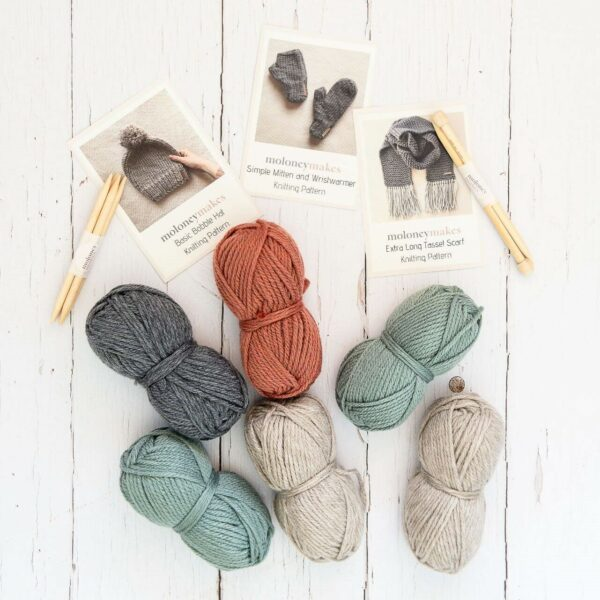 Moloneymakes Ultimate Complete Knitting Kit