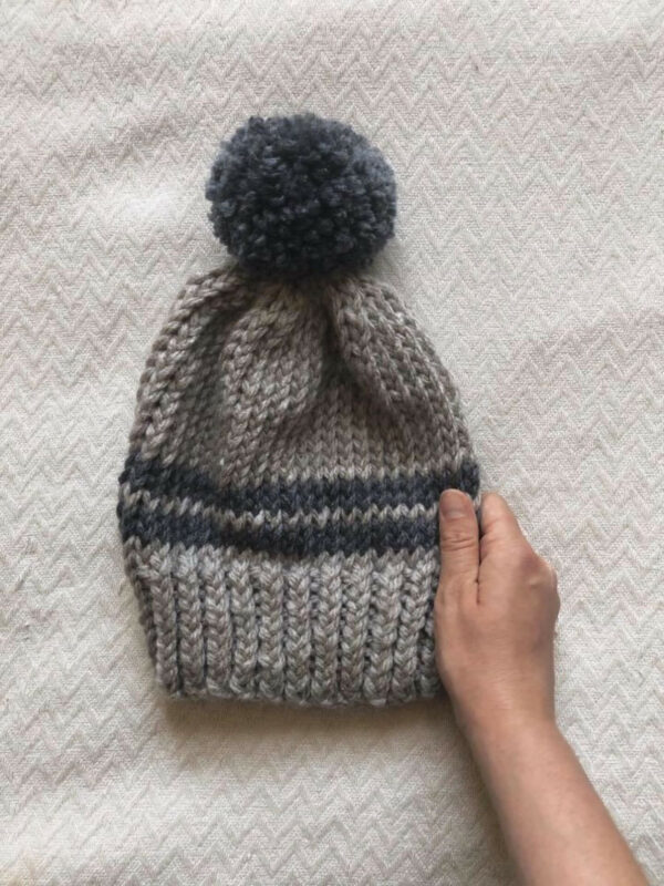 Moloneymakes Playing With Colour Elliott Bobble Hat Knitting Pattern Bundle