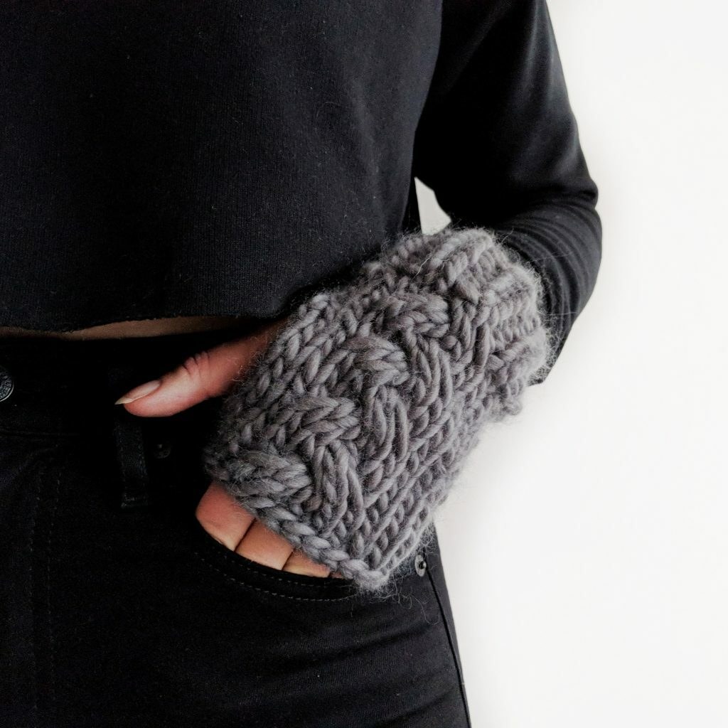 Knits Please Cable Handwarmers