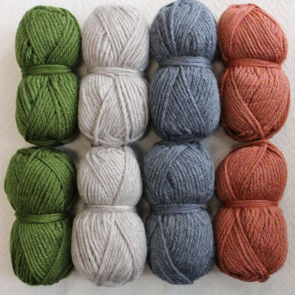 Moloneymakes Super Chunky Vegan Yarn Colour Pack in Colourway Autumnal