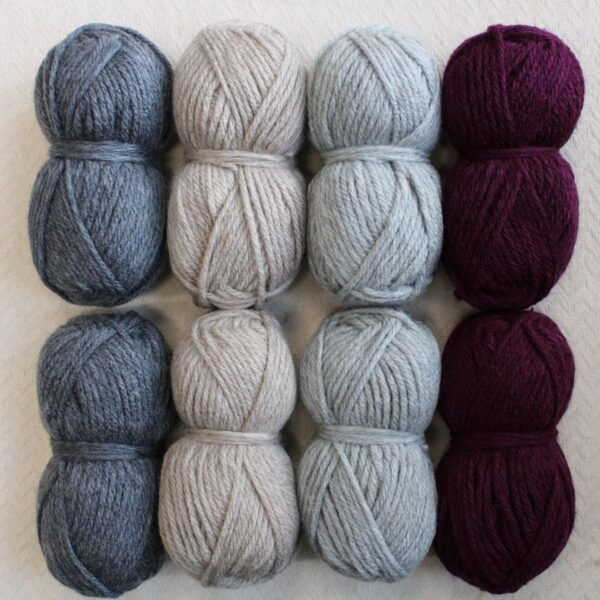 Moloneymakes Super Chunky Vegan Yarn Colour Pack in Colourway Neutral