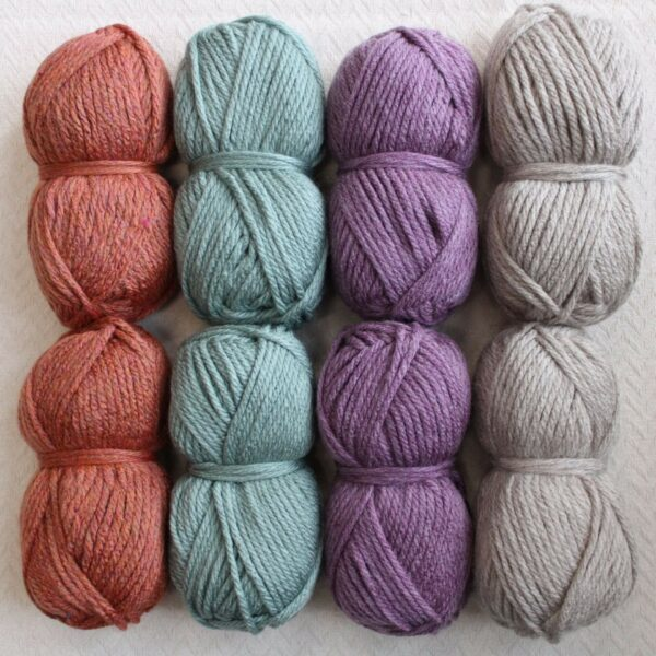 Moloneymakes Super Chunky Vegan Yarn Colour Pack in Colourway Pastel