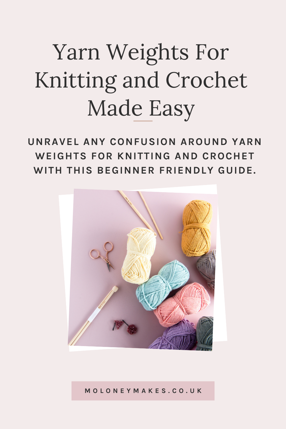 Yarn Weights For Knitting And Crochet Made Easy Blog Pinterest Graphic