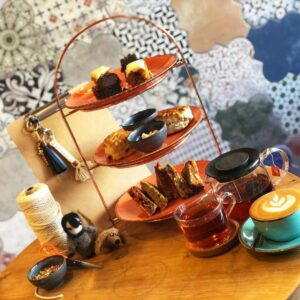 crafternoon tea at farahway cafe