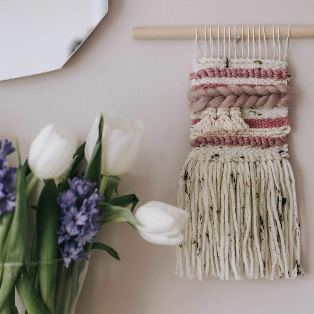 Beginners weaving kit by The Crafting Kind UK